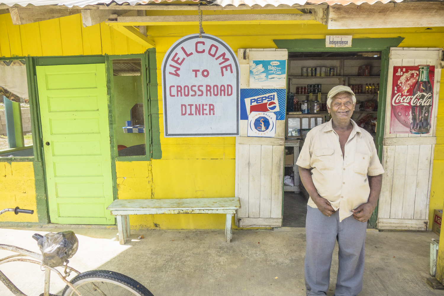 In Belize they call themselves Kriols, not Creoles. They are the descendants of Black African slaves who ended up in Belize.  Living history.