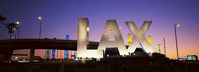 The new face of LAX.Now that's a facelift.