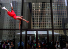 A performance of the Jesse White Tumblers in Chicago.