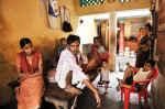 Neha Kumari, 14, far left, who is infected with TB and undergoing DOTS treatment, sits in the room she shares with her father, Sunila, center, and her four siblings and mother in Patna, Bihar, India, August 10, 2010. Tuburculosis kills about 6,000 people each day, a number that is higher than AIDS or Malaria, the other two deadliest infectious diseases, and is often spread in cramped living conditions like these. TB is an airborne disease, and many poor Indian families share small quarters, where the disease is spread among family members. In 2010, the World Health Organization estimates there will be ten million new TB cases, with at least a quarter of those in India.