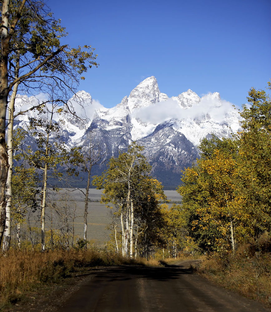 September in the Tetons