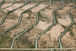 Zig Zag RoadwaysArizona City, AZ 2005Digital Capture, Ref #: 050217-0106