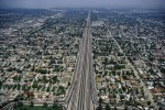 Highway follows the gridLos Angeles, CaliforniaFilm, Ref #: LS_2654_16