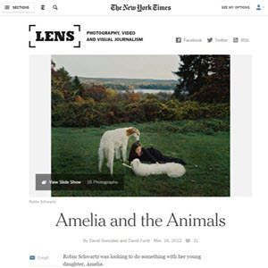 LENS BLOG THE NEW YORK TIMES March 16, 2012