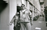 A moment with Andre the Giant, who I was assigned to photograph for a feature story in PEOPLE Magazine