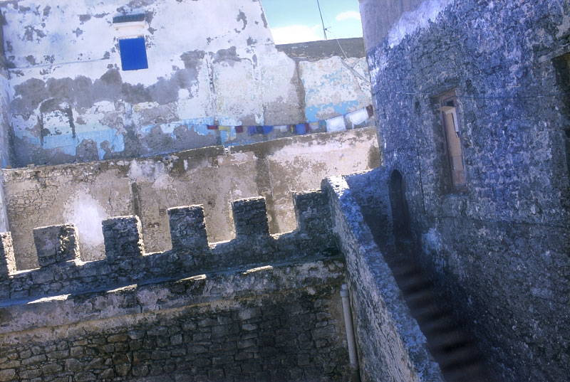 Ancient walls, Essaouira, Morocco
