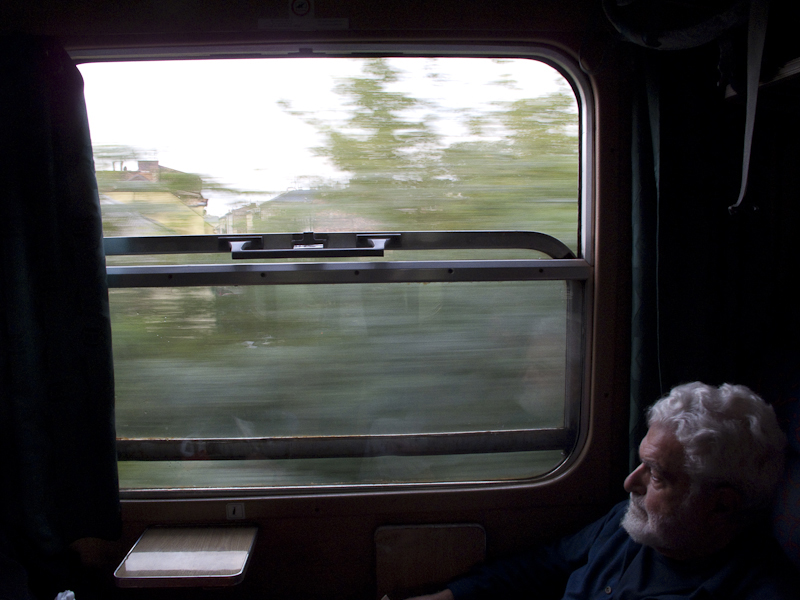 By train, Krakow to Przemysl,  Poland