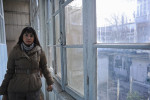 BAKU, AZERBAIJAN.  Sadigova Khayala, 26, a former child bride who married at age 16 in a mosque in her native region of Mingechevir, Azerbaijan and separated after six month when her husband started to beat her, is seen in the office of a psychologist on November 28, 2011.  Khayala had the support of her mother who helped her to escape and the two moved to Baku where Khayala later attended university.
