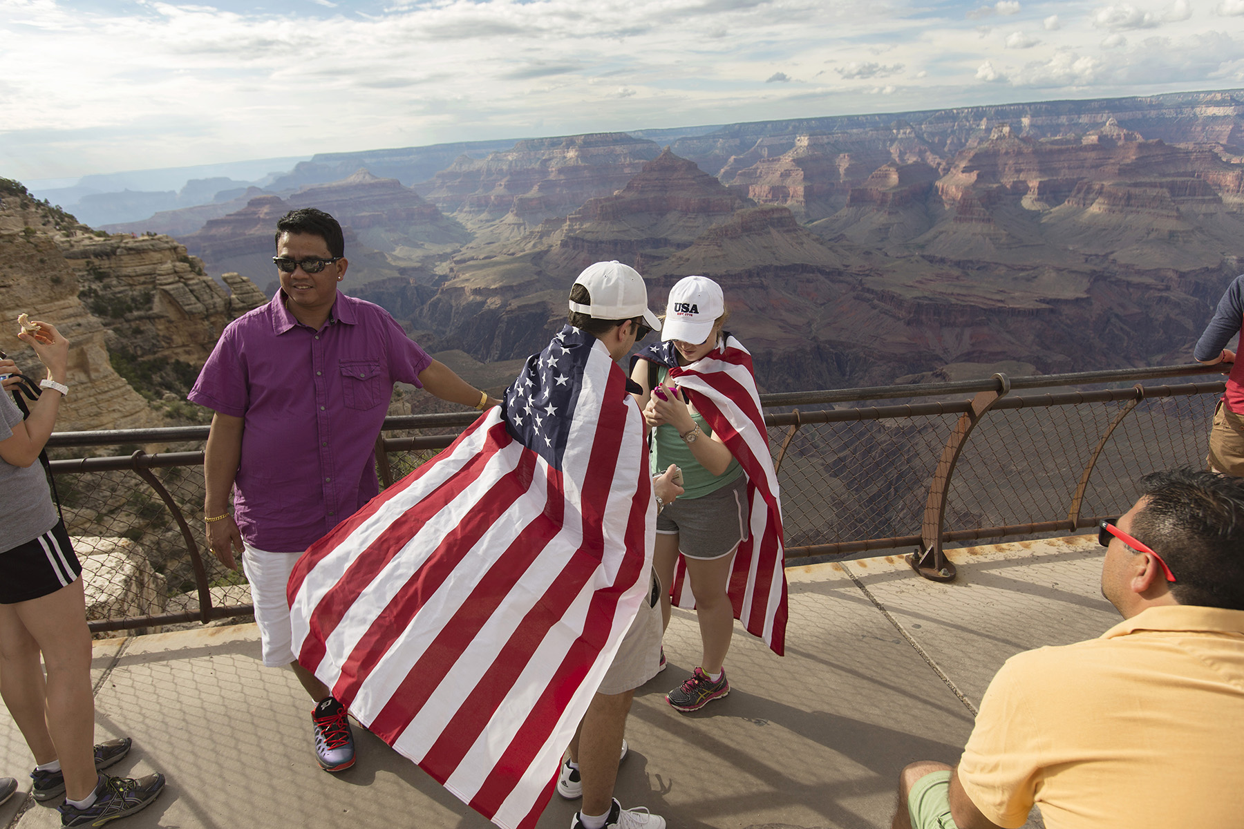 Grand Canyon, 4th of July.