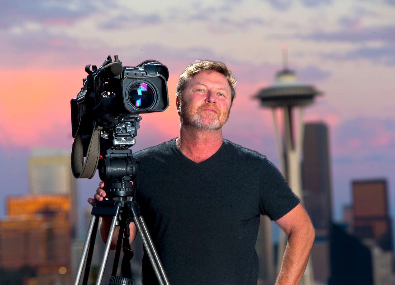 King 5 photojournalist Doug Burgess  is the 2015 Best Of Photojournalism Ernie Crisp Television News Photographer of the Year. (photo © Karen Ducey)