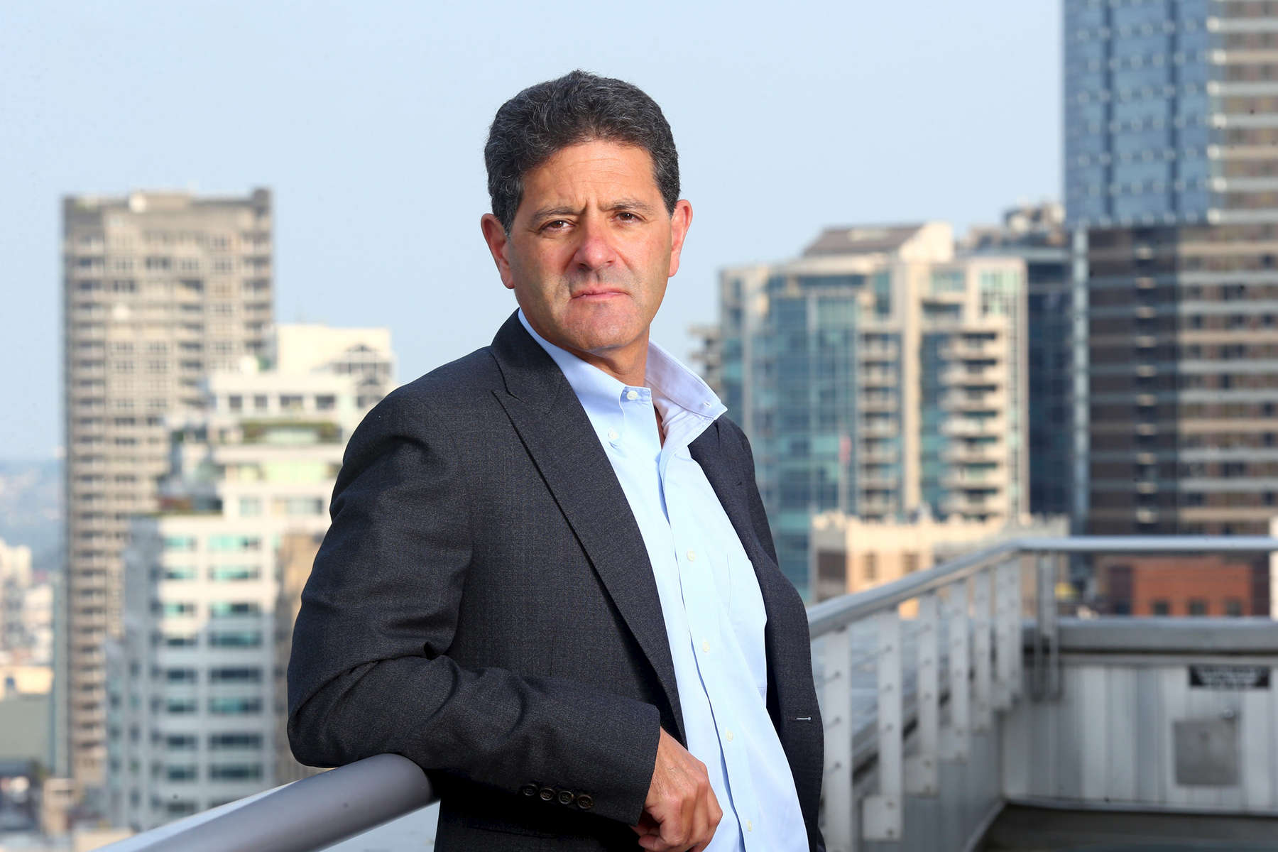 Nick Hanauer, founder of Civic Ventures, photographed in Seattle, Wash. on August 8, 2017 for the Guardian News and Media.(© Karen Ducey)