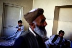 Men relax in a drug rehabilitation center in Kabul. A 2005 U.N. report estimated that Afghanistan was home to about 1 million drug abusers.