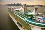 Up close and personal to the Freedom of the Seas, for RCCL.