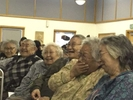 Elders at a Calricaraq training in Bethel. Elders' traditional wisdom and expertise are central to the intervention.