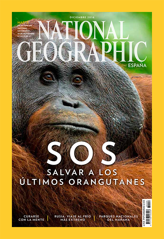 Cover - National Geographic Spain - December 2016