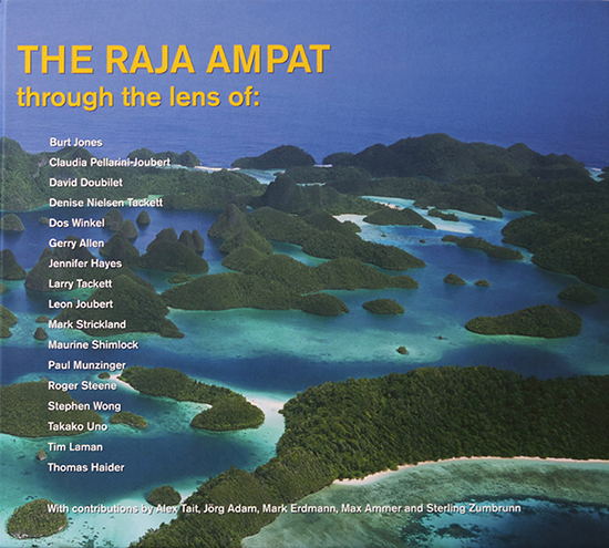 This book is a collection of images of the Raja Ampat region of Indonesia from top photographers.  Tim's chapter describes his love for the region above and below the water.  You can purchase this book through our store in Tim's online archive.You can view the entire book online at the Raja Ampat Research and Conservation Center.
