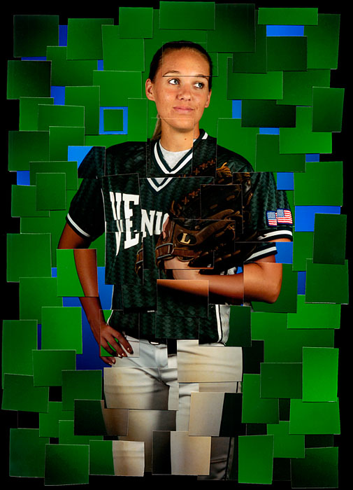 Sarasota Herald-Tribune All Area Softball Player of the Year - Venice High's Brittany Hipple.