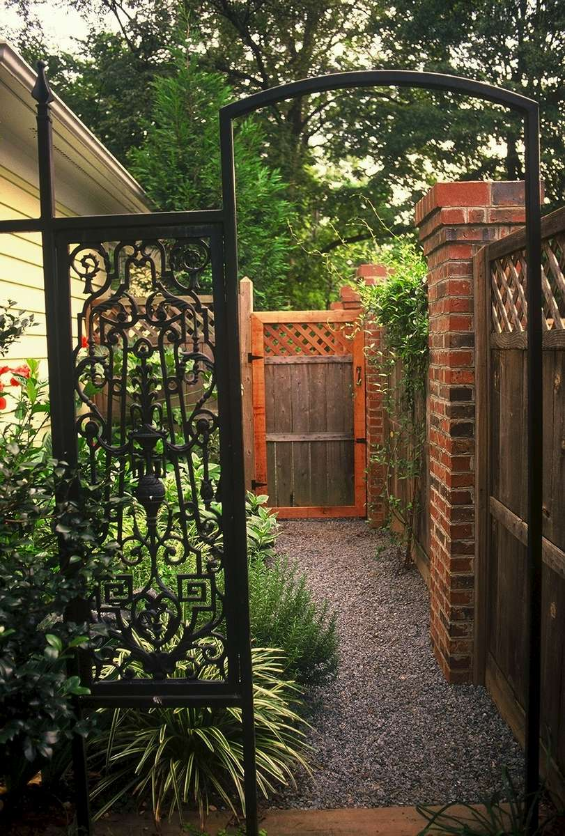 WhimsicalLandscapeDesigninDilworthCharlotteNC A Secret - Backyard design charlotte