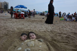 Beirut__boys_beach_under_sand
