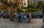Family at the Corniche, Beiut, May 2013