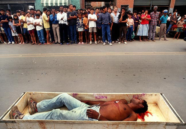 Killing in a Favela, Sao Paulo, USA, 1992