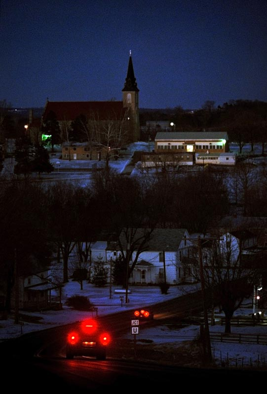 Sacred Heart Church has been a lasting landmark in a community that has seen many changes during the last century, including the closing of several businesses and a significant population decrease.