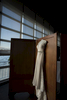 wedding dress. Lighthouse at Chelsea Piers wedding day. NYC wedding photographers