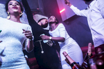 Champagne is a staple in Lagos nightlife and those who can afford many bottles also attract many girls.