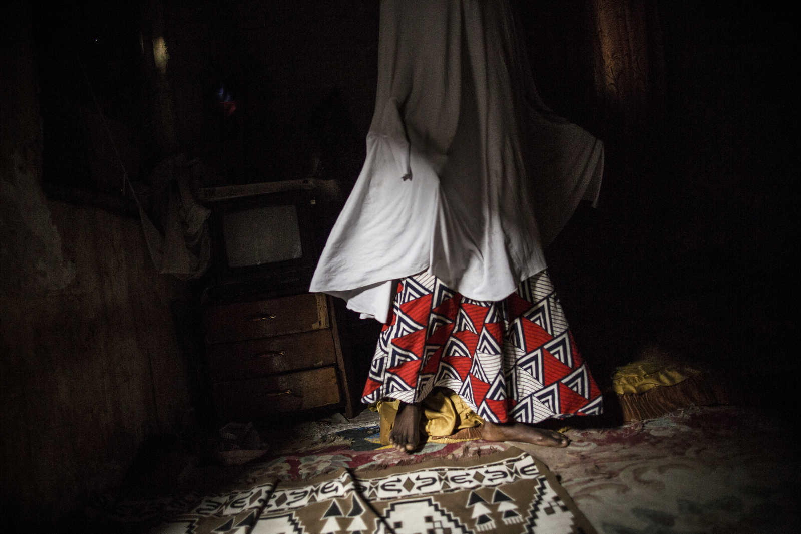 "Y. was the first girl in her family to go to school. When she was abducted by Boko Haram, she was married off to three different men. She pretended to love the second one so that he would pass a message to her mother in Bama. She was nicknamed the ""Emir of War,"" because she was the best shooter in the camp."