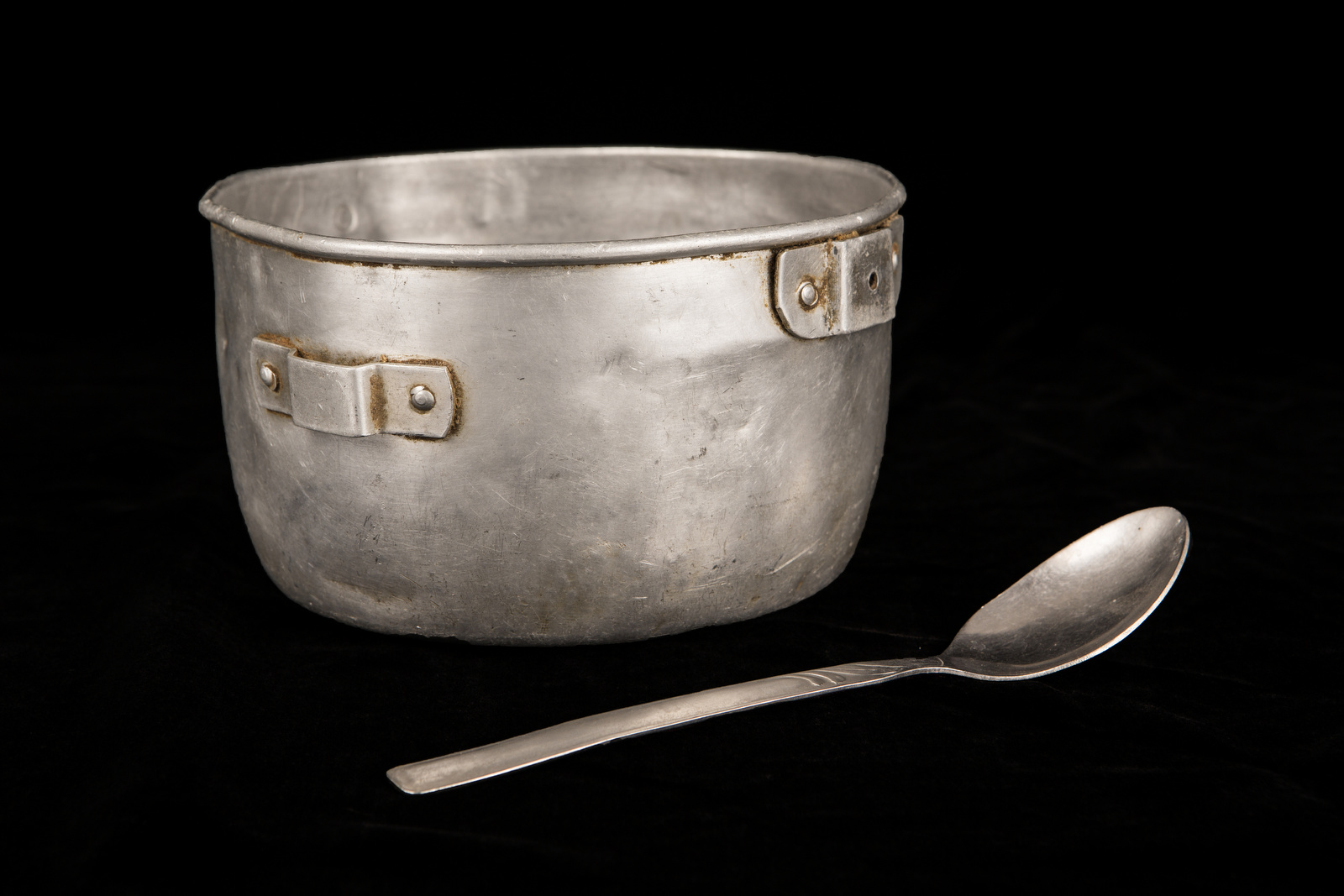 For the 54 days that Harald Ickler was held captive in the Sahara Desert by an Al Qaeda affiliated terrorist group, he ate every meal out of this bowl with this spoon. Most days, he and other hostages were given a thin soup of flour and water. In the morning it had sugar, in the middle of the day, salt, and in the afternoon, {quote}Classic{quote} as Ickler calls it, with neither salt nor sugar. One time the mujahideen who were holding his group killed a camel and they received a bit of meat. {quote}That was like Christmas for us,{quote} said Ickler.