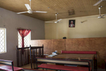 The courtroom where Wasila stands in Gezawa, an hour from her village and another hour from Kano, the biggest city in Northern Nigeria.
