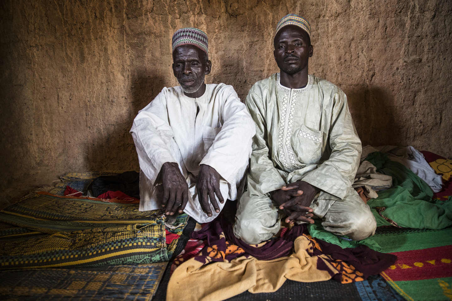 There, we met Umaru's brother and his father. In a dark room lent to us by a kind neighbor so we didn't have to talk about sensitive things out on the street, they told us of how much time and money Umaru had invested in the girl.