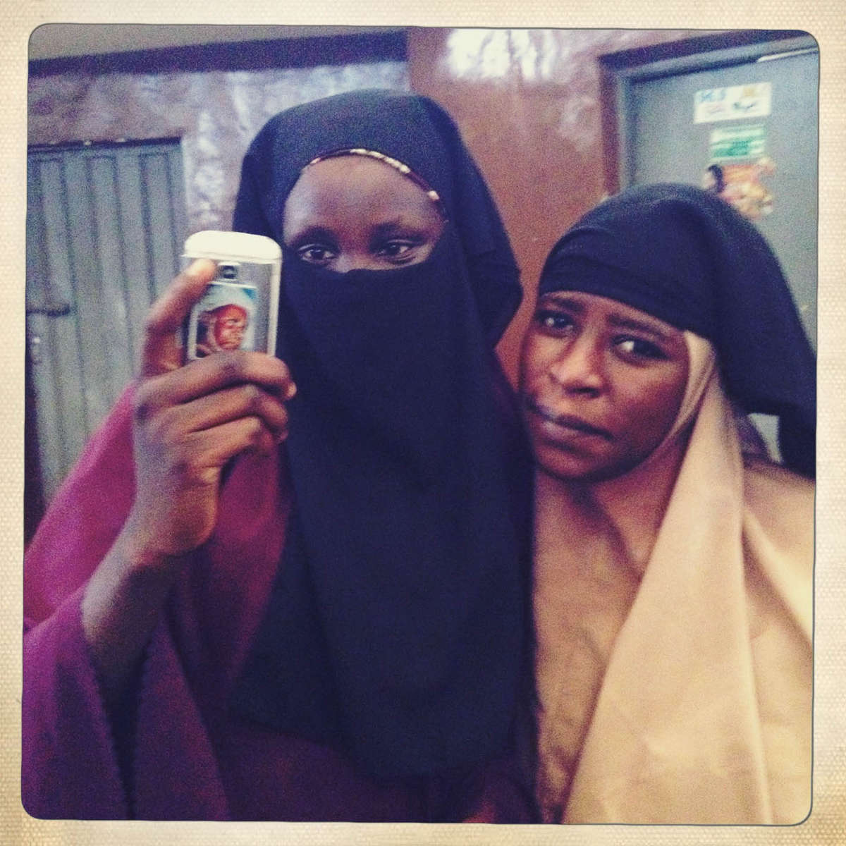 Snapping a selfie. Kano, Northern Nigeria. April 2013.