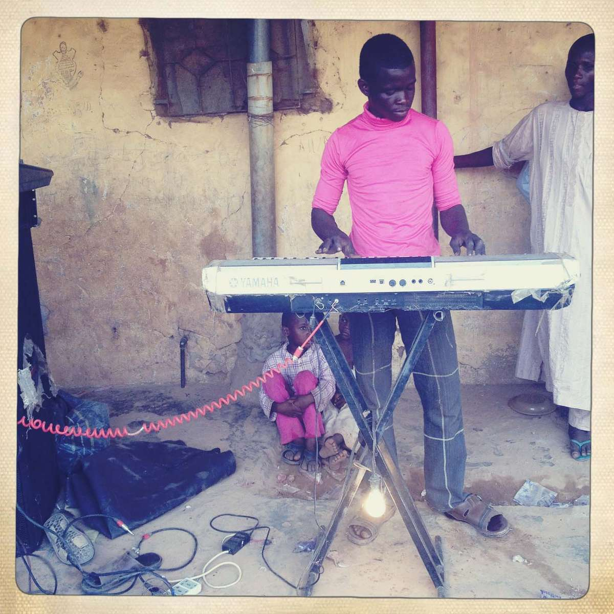 Wedding DJ. Kano, Northern Nigeria. April 2013.
