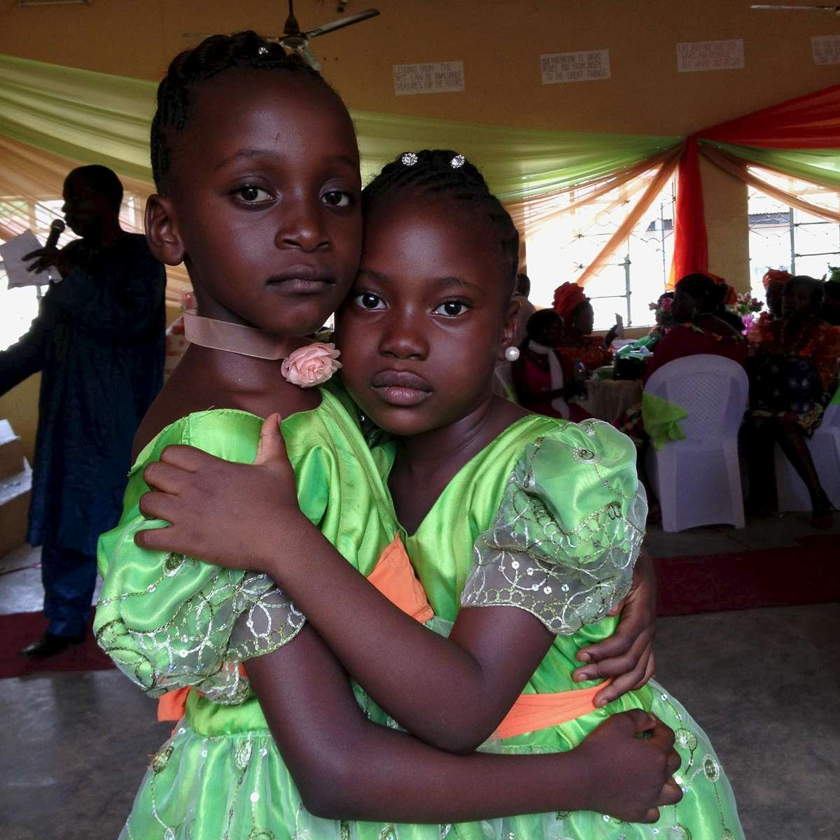 Wedding friends. Jos, Central Nigeria. April 2013.