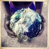 Hand made soccer ball. Malawi. May 2013.