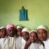 School girls in Kano, Northern Nigeria. February 2014.