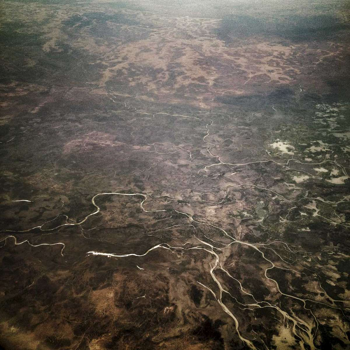 Scorched earth. Eastern Chad. November 2013.