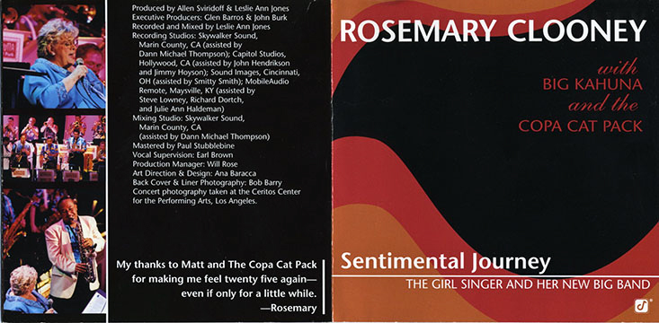 ROSE MARY CLOONEY