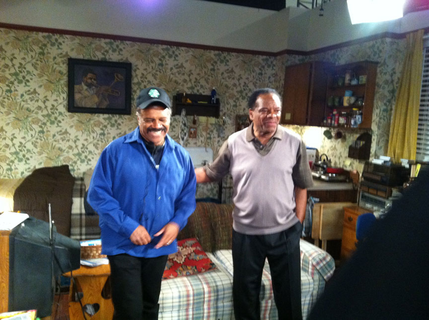 Ted Lange and John Witherspoon.
