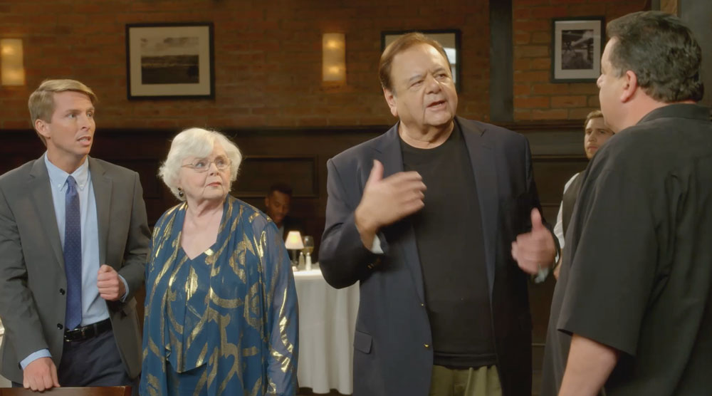 With Paul Sorvino, Steve Schirripa, Cathy Moriarty
