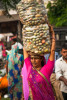 The women of India are extremely hard workers.