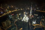 the view from the world financial tower in shangha