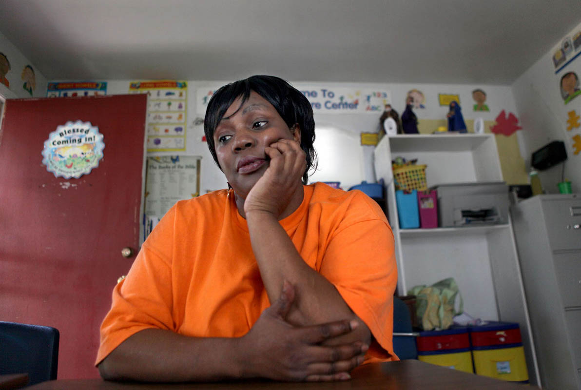Patricia Carter-Lee had her daycare license suspended in 2002 while being investigated for allegations of hitting her foster child with a belt. County welfare workers deemed the allegations were true and pulled her child-care provider certification, but the state allowed her business to continue operating. She has been cited repeatedly for improper training, poor meals and faulty records. Her center was also investigated for reported sexual abuse of a child and suspected of fraudulent billing. In 2008 she brought in nearly $125,000 from Wisconsin Shares and she continues to care for children at the center.