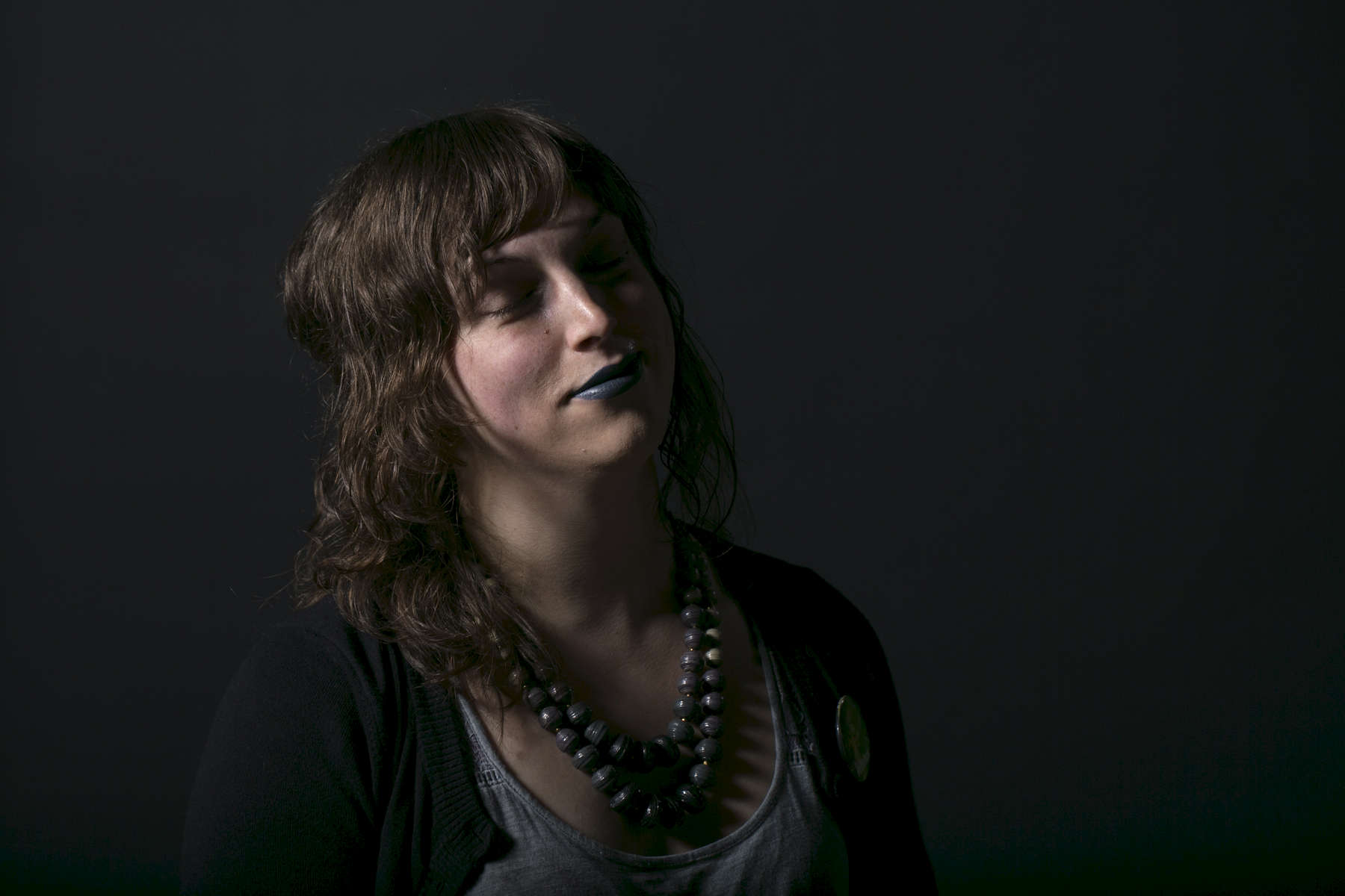 Madisyn Artemesia DelPorto, 28, of Portland, says she she presented as {quote}a super gender queer, nonbinary person for years.{quote} She then {quote}gradually wandered further and further into femininity and eventually started HRT [hormone replacement therapy] and found that the most comfortable place for me to live my life was as a woman.{quote}Kristyna Wentz-Graff/Staff