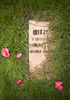 A grave for {quote}Mitzi{quote} is covered with grass at the Animal Cemetery at the Oregon Humane Society in Portland. Established in 1918, the Oregon Humane Society says it's the oldest pet cemetery west of the Mississippi.