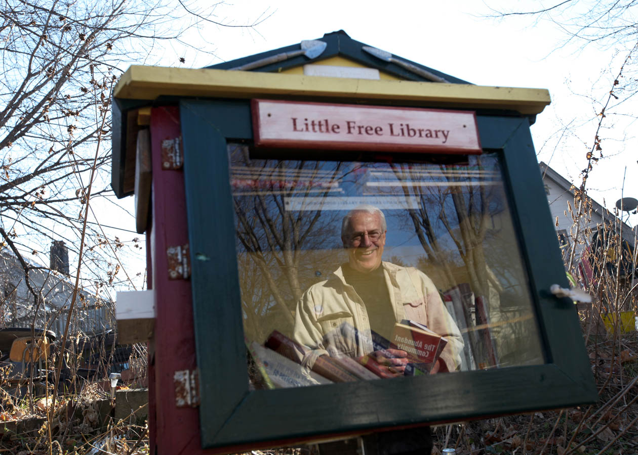 Take a book, leave a book. That's the concept behind the Little Free Library. The tiny book exchanges help foster something bigger---they promote literacy and build community. And they are gaining quickly in popularity.