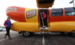 Take a ride in the Oscar Mayer Wienermobile!