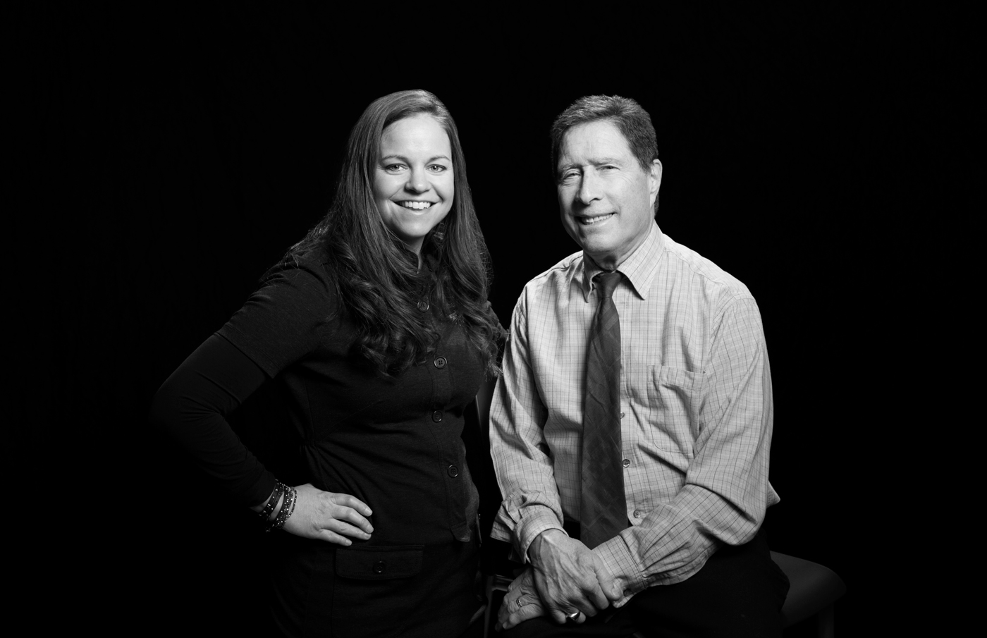 Erinn McQueen and Dr. Edward Keystone for Sinai Health magazine.