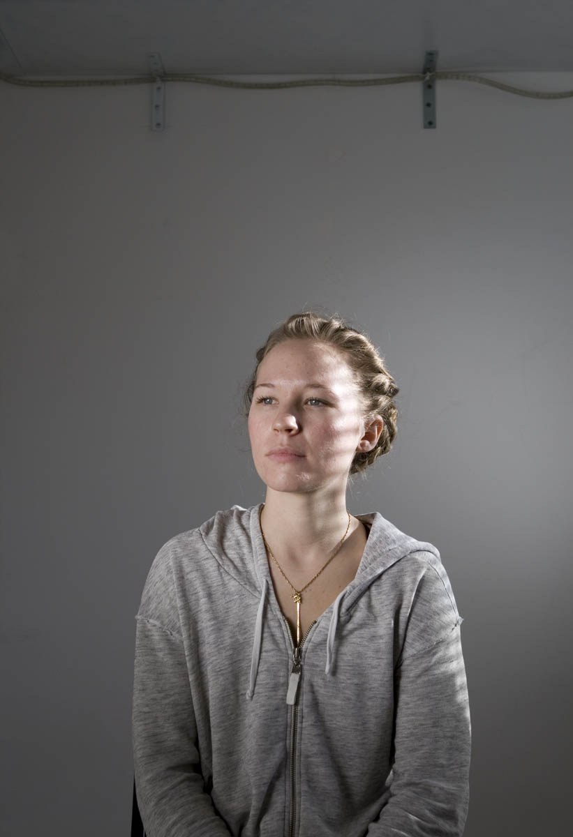 Jen Mann, painter.